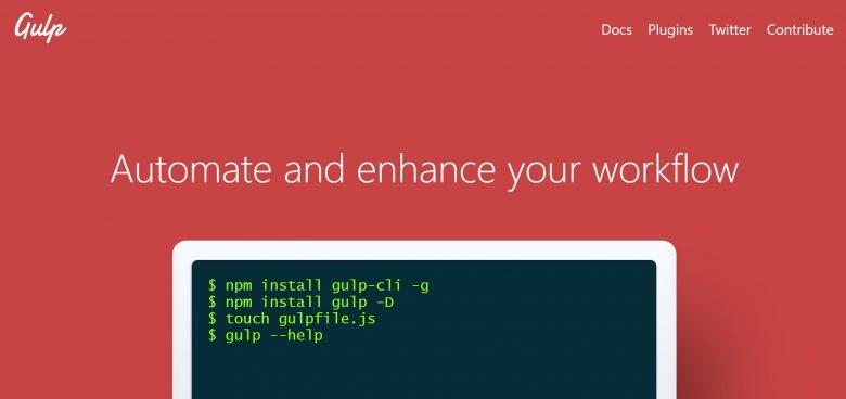 Wie lässt sich gulp.js automatisch starten?