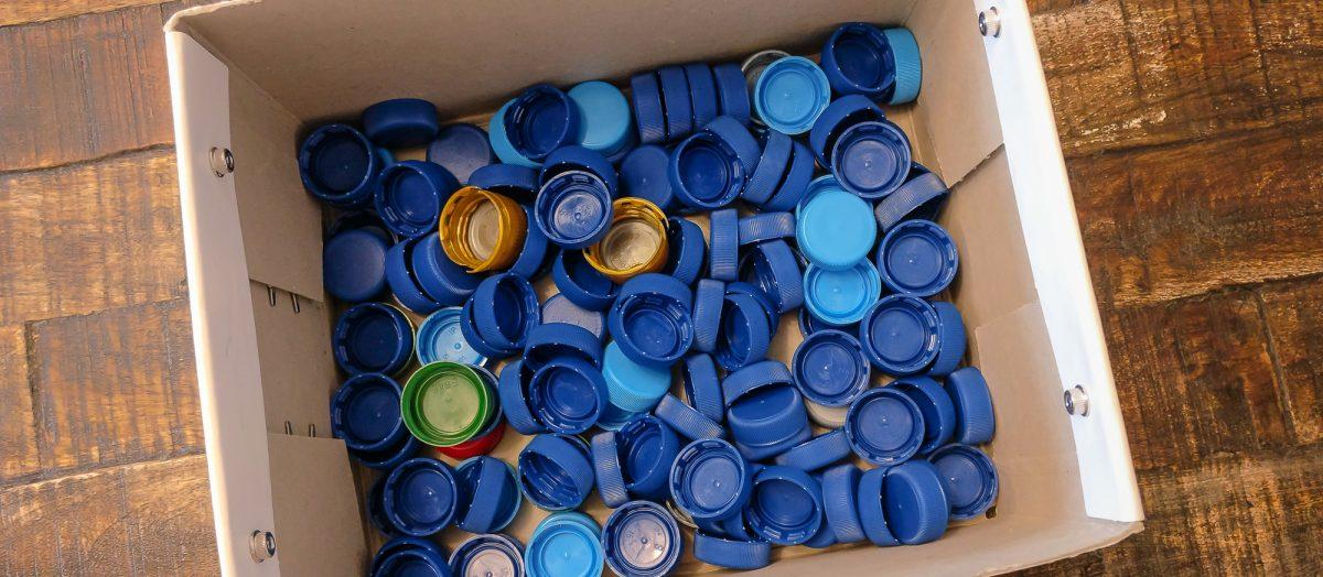 Warum wir die Deckel unserer Pfandflaschen sammeln